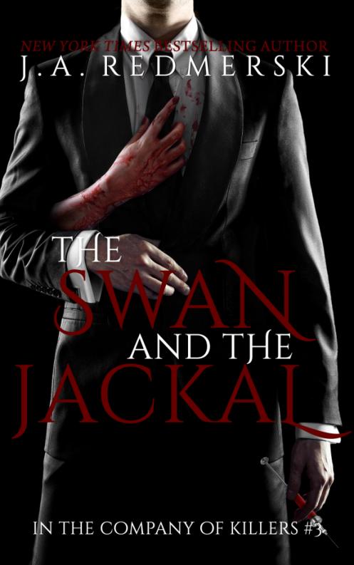 official cover- THE SWAN & THE JACKAL - March 5, 2014 - CLICK THE IMAGE TO SEE THE FULL VIEW AND WITHOUT THE CRAPPY DISTORTION OF THE RED.