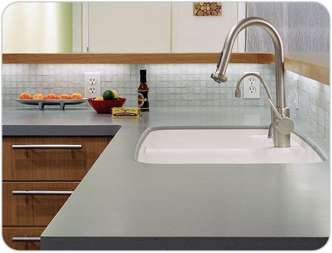 Hakatai Image Gallery  Cabinets are focal point  Mild countertop and mild glass backsplash let cabinets be focal point