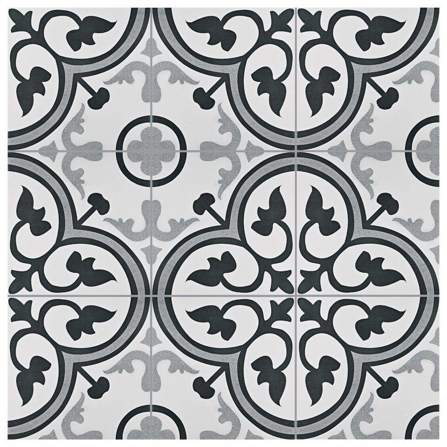 Mora 12 38 X 12 38 Ceramic Field Tile In Gray White Ceramic