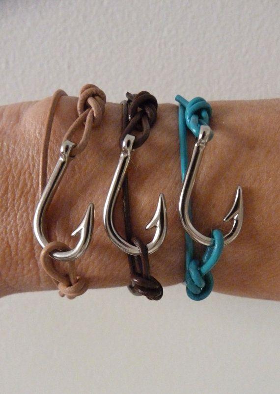 Fish Hook Bracelet Nautical