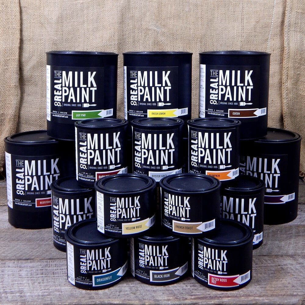 Milk paint is an environmentally friendly paint real