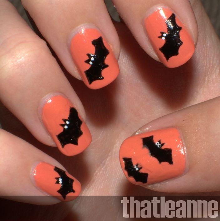Halloween Nail Designs Thatleanne Simple Halloween Nail Art Ideas