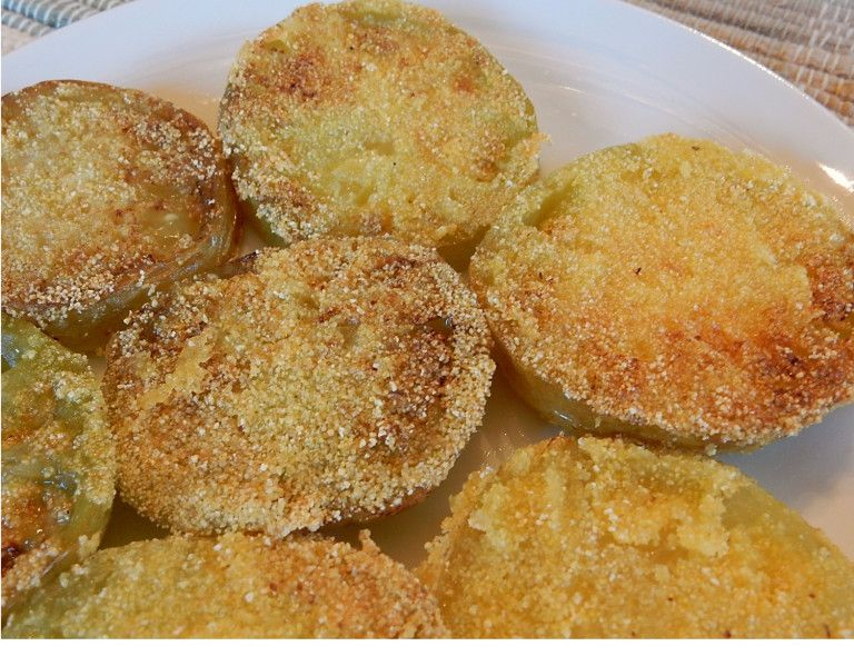 Old Fashioned Fried Green Tomatoes A Hundred Years Ago Fried Green Tomatoes Recipe Green Tomatoes Green Tomato Recipes