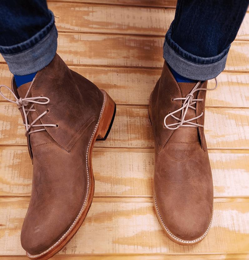 comfortable mens dress boots