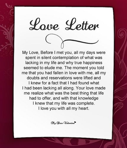 sweet love letters for her