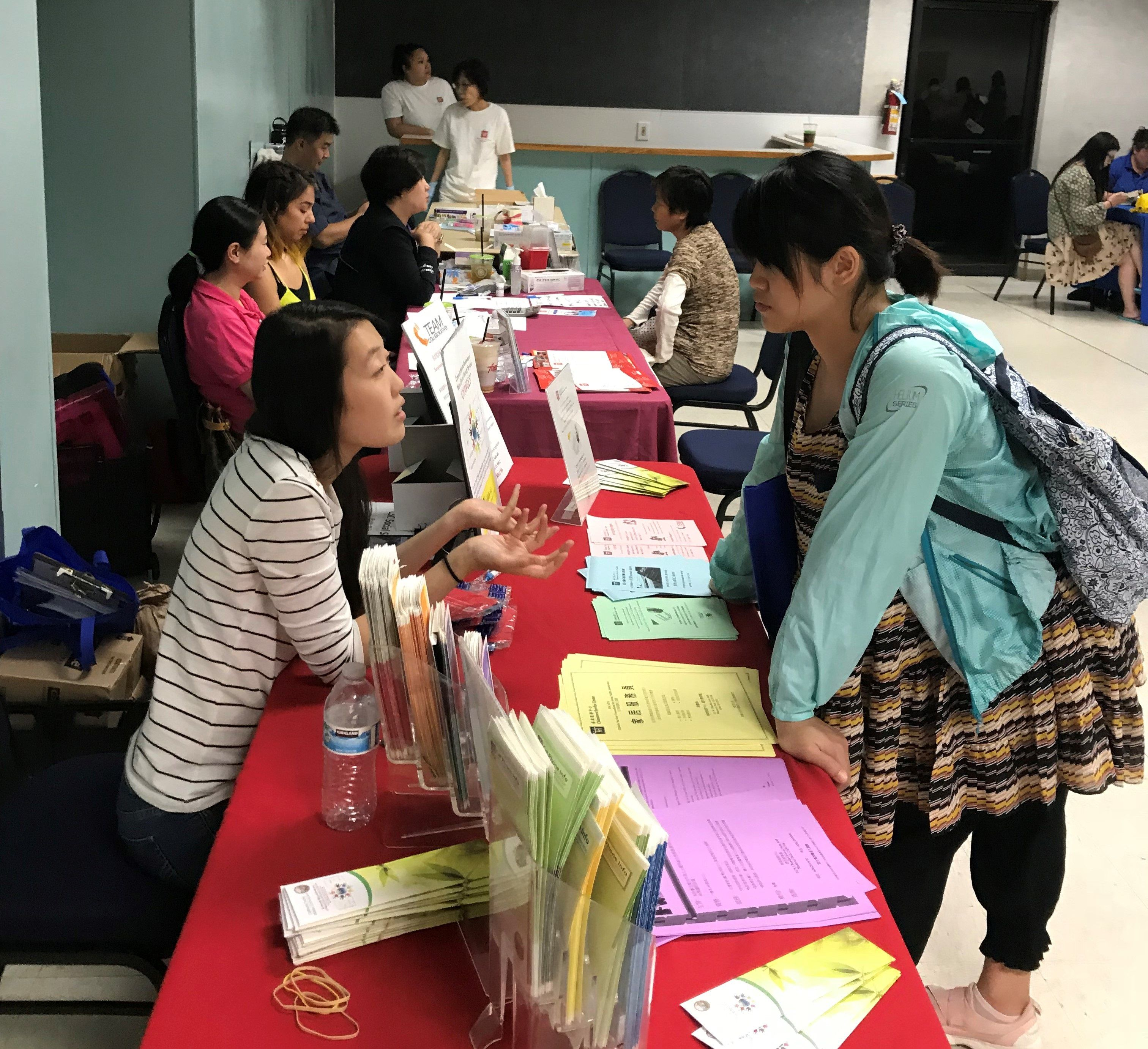 Health education image by Chinatown Service Center on