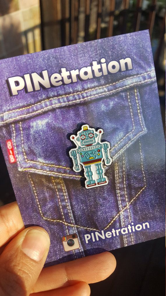 Hey, I found this really awesome Etsy listing at https://www.etsy.com/listing/276325736/robot-findthu-pin