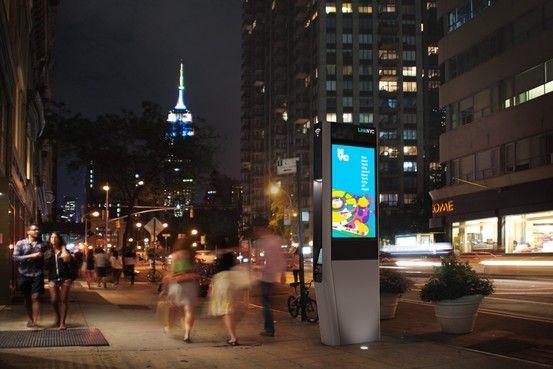 NYC Hangs Up Pay Phones, Announces 'LinkNYC' Digital Hubs - WSJ