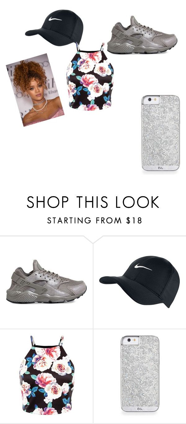 """""""on fleekkk"""" by dosaro on Polyvore featuring NIKE, women's clothing, women's fashion, women, female, woman, misses and juniors"""