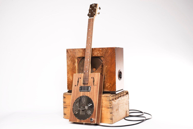 Drummond & Hammett Resophonic Cigar Box by DrumAndHammGuitars
