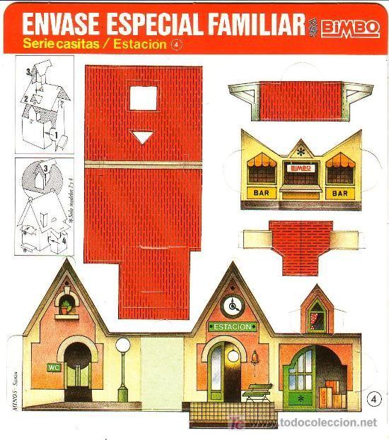 Recortables para ni os casitas recortables tiny tiny for Casitas para ninos