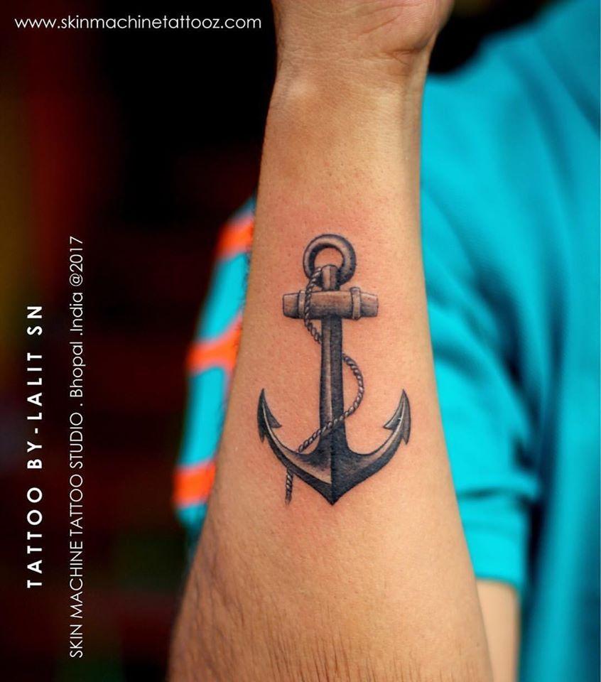 Ancla tattoo | Tatuajes de anclas, Tatuaje de ancla en el brazo, Ancla  tattoo