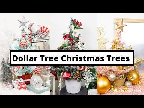 DIY Christmas Decor - Dollar Tree Christmas Decorating Challenge!!!