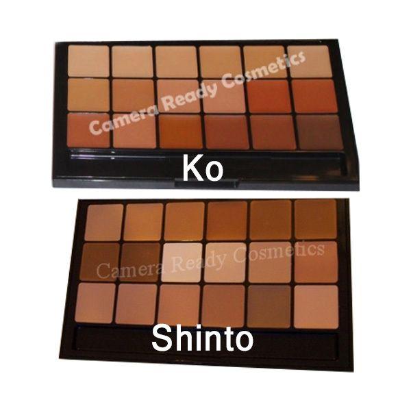 Rcma Foundation Concealer Palette Sampler Size Rcma Makeup Rcma Foundation Palette