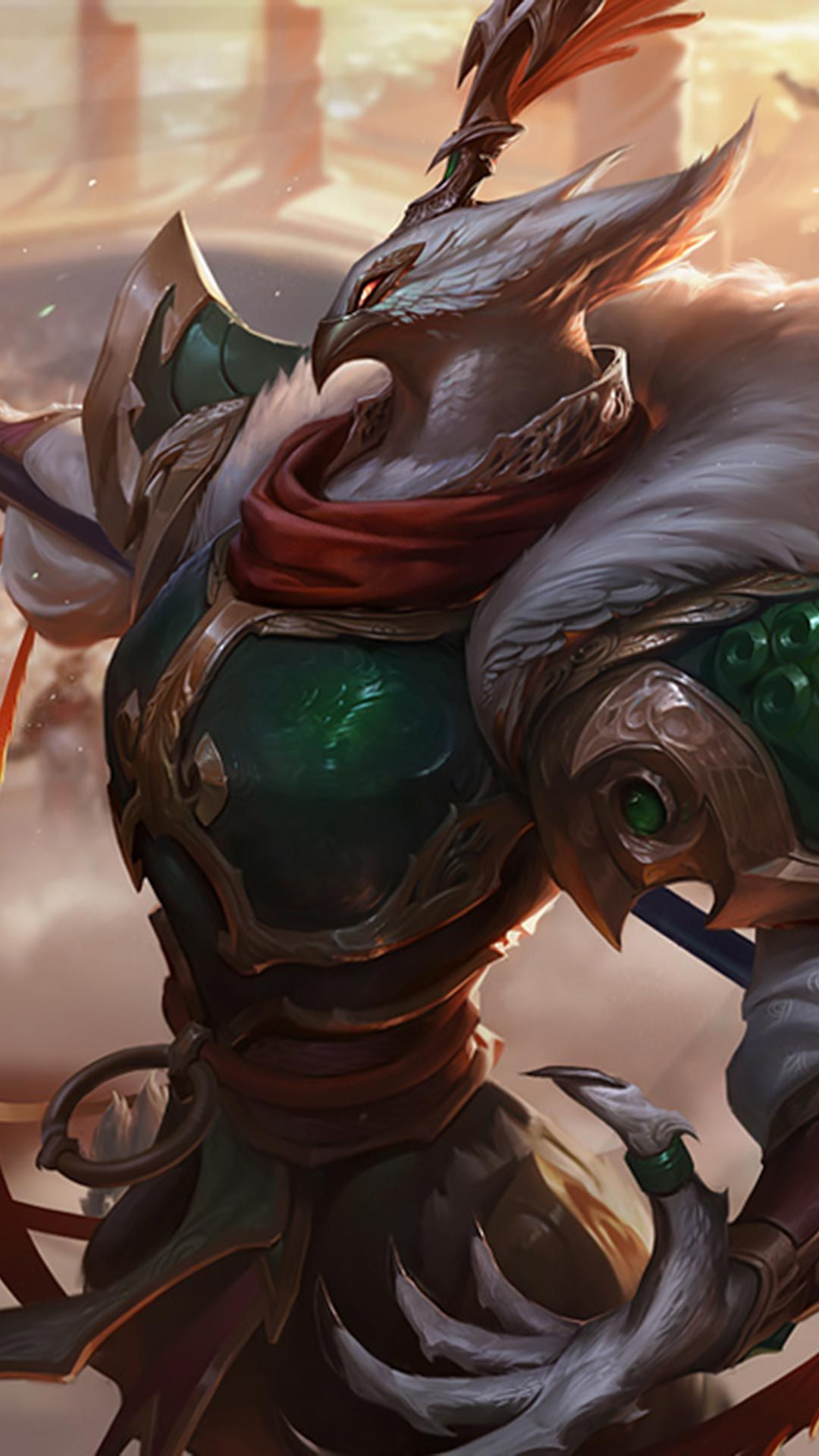 Warring Kingdoms Azir Skin Android Iphone Wallpaper Mobile
