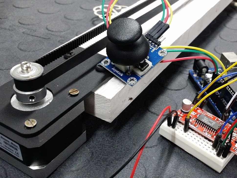 Diagram 3 Phase Stepper Motor Driver Circuit Arduino Servo Motor