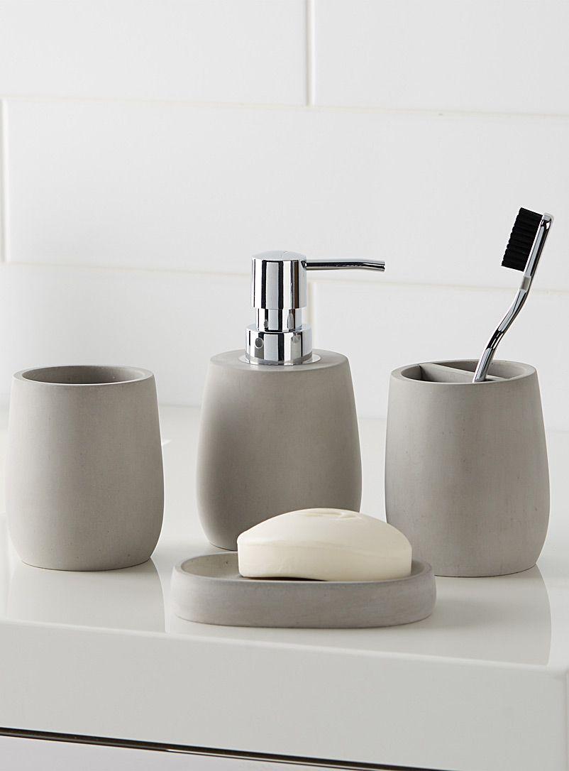 Minimalist Faux Stone Accessories Soap Dispenser Diy Bathroom Soap Dispenser Minimalist Baths