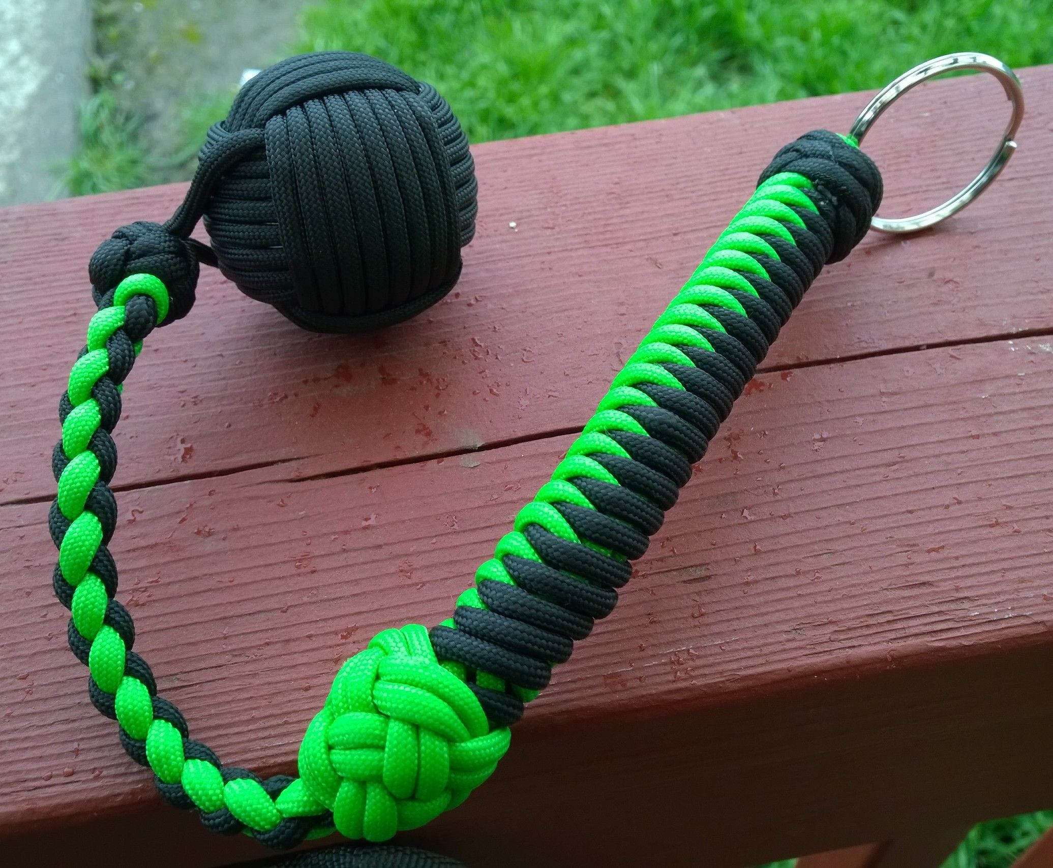 Zombie Monkey Fist Defense Keychain Monkey Fist Done Around Golf