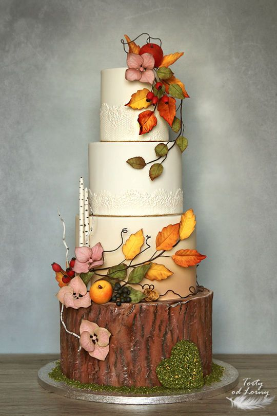 Autumn wedding cake -   8 autumn cake Aesthetic ideas