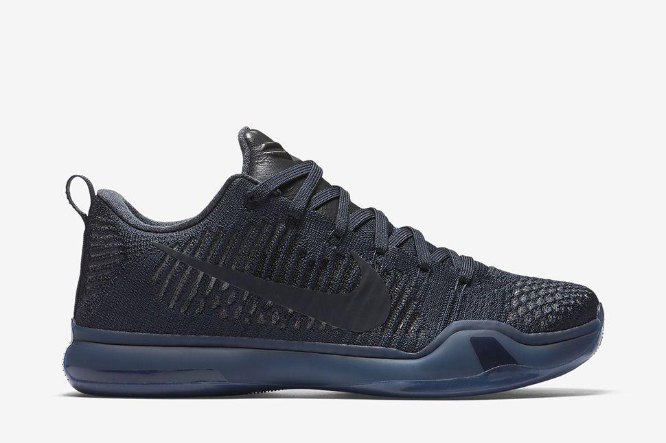 "Nike Kobe 10 Elite Low ""Dark Obsidian†(Black Mamba Pack) - EU Kicks:  Sneaker Magazine"