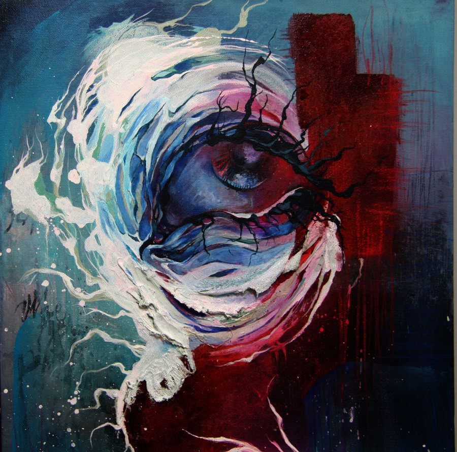 Abstract Paintings Of Sadness Google Search Painting Abstract
