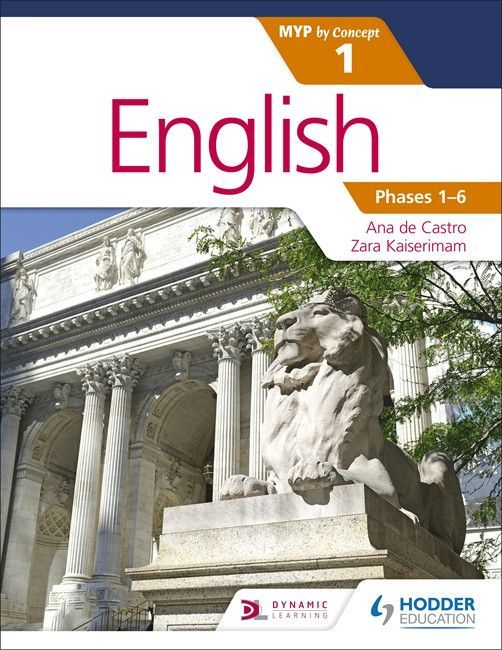 English for the IB MYP 1 NOT YET PUBLISHED DUE 28 OCTOBER, 2016