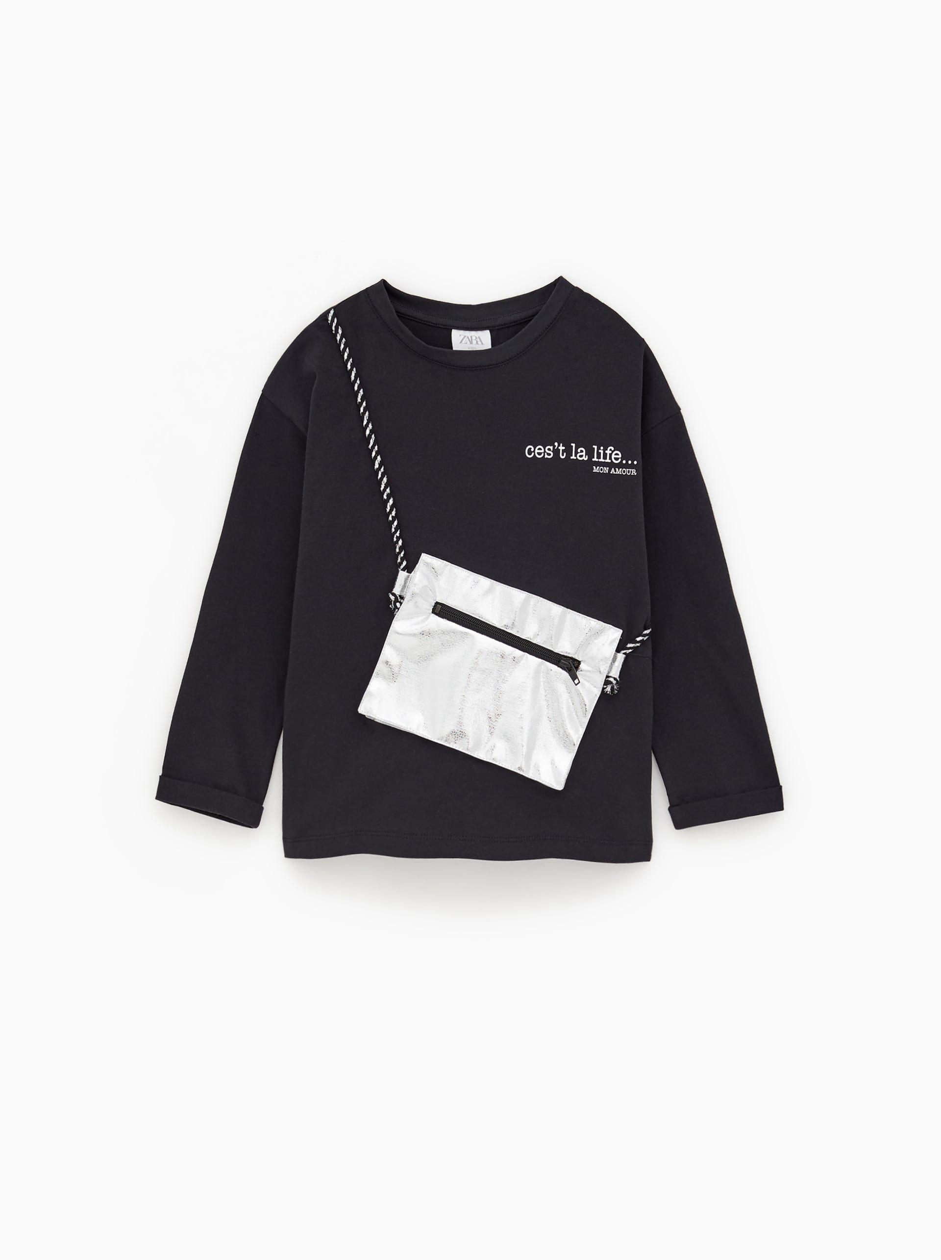 5565226aca Girls' T-shirts | New Collection Online | ZARA United Kingdom | Kış ...
