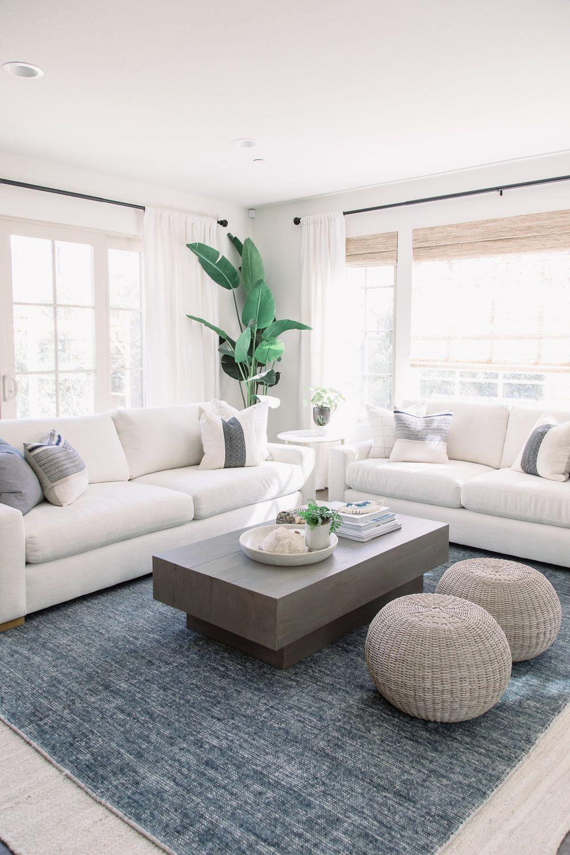 North Beach Bungalow Pure Salt Interiors Living Room Decor Modern Modern White Living Room Living Room Designs