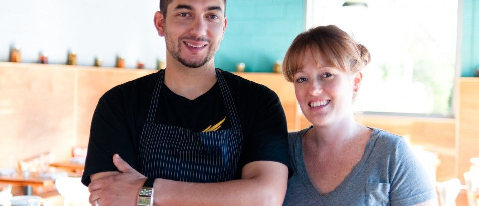 Chefs and Resterauteurs:  Ned & Jodi Elliott of Foreign & Domestic in Austin, TX.