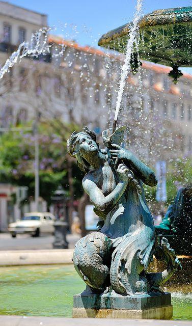 Mermaid in Lisbon by tibidabobcn, via Flickr