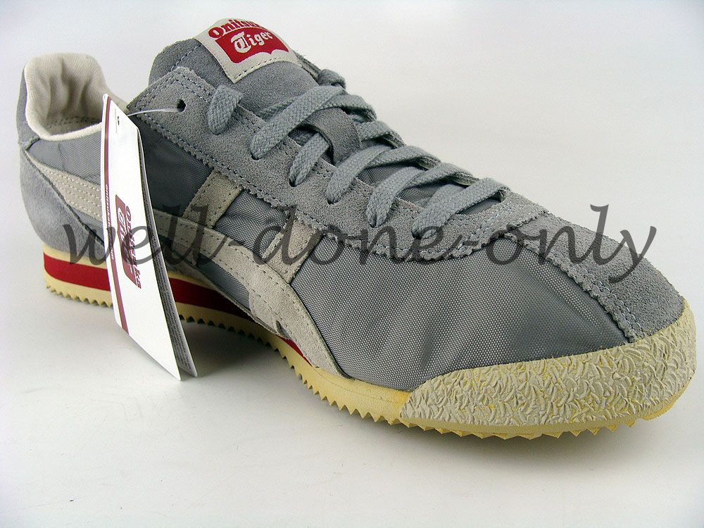 new Asics Onitsuka Tiger Corsair Cortez VIN LE grey off white red mens vtg  shoes
