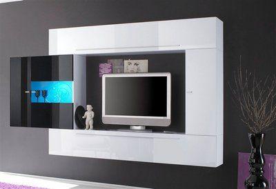 Tv Mediawand lc tv-media-wand, breite 272 cm (4-tlg) | rak tv | pinterest