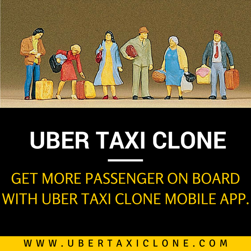 UberTaxiClone‬ Get more passenger on board with Uber Taxi