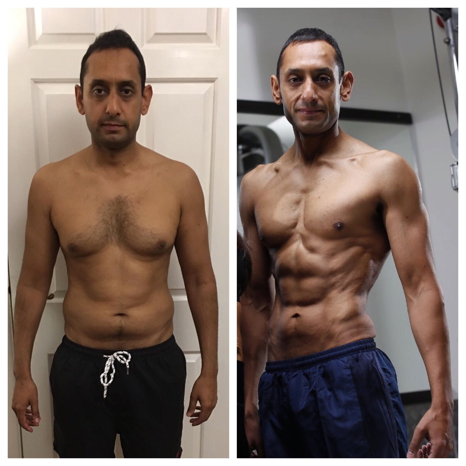Skinny fat to figure competitor