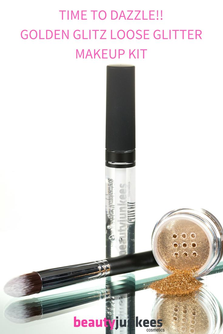 Golden Glitz Loose Glitter Makeup Kit | Beauty Junkees ...