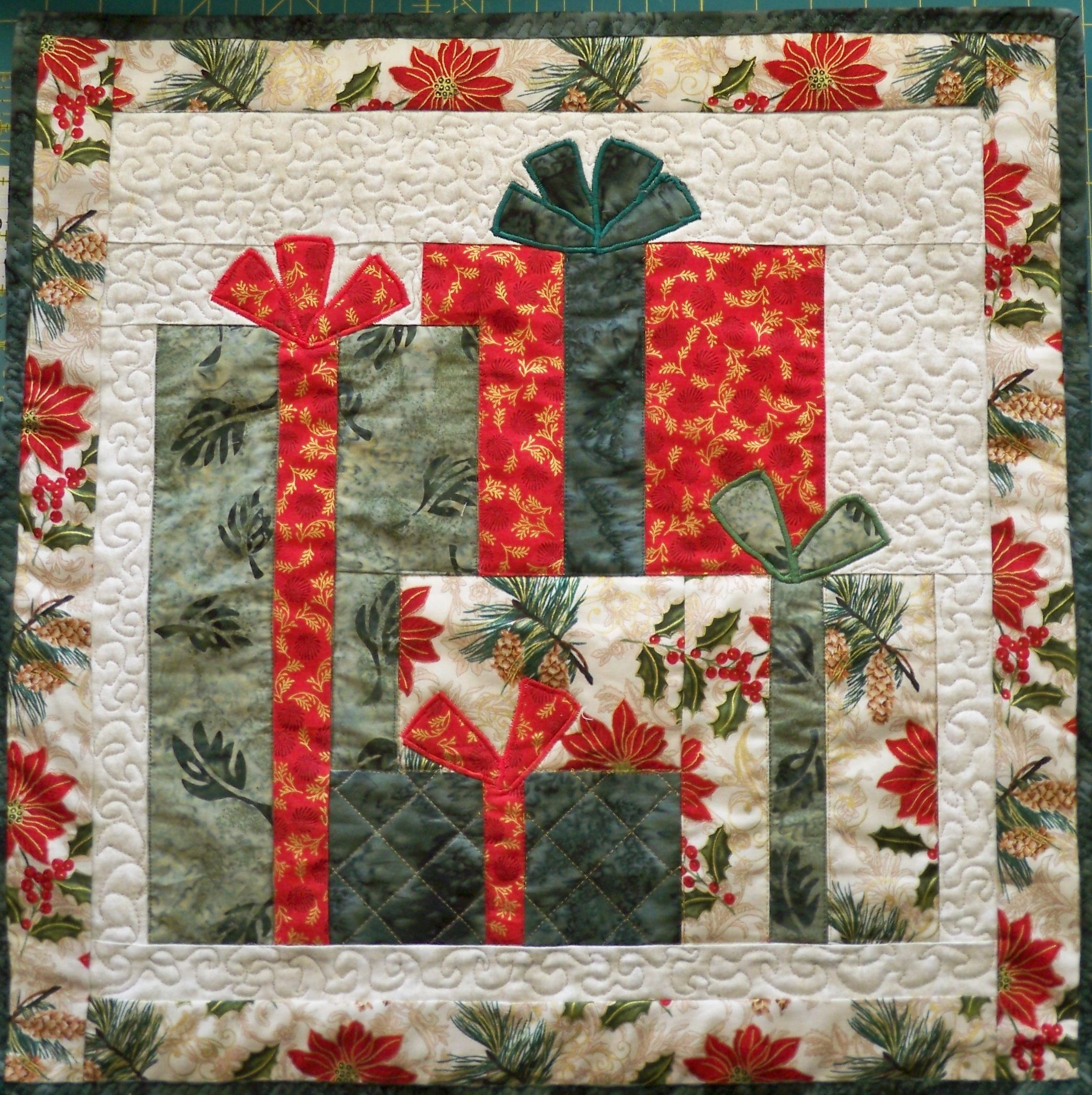 Christmas Presents Quilting Pinterest Runners, Sacks and Patterns