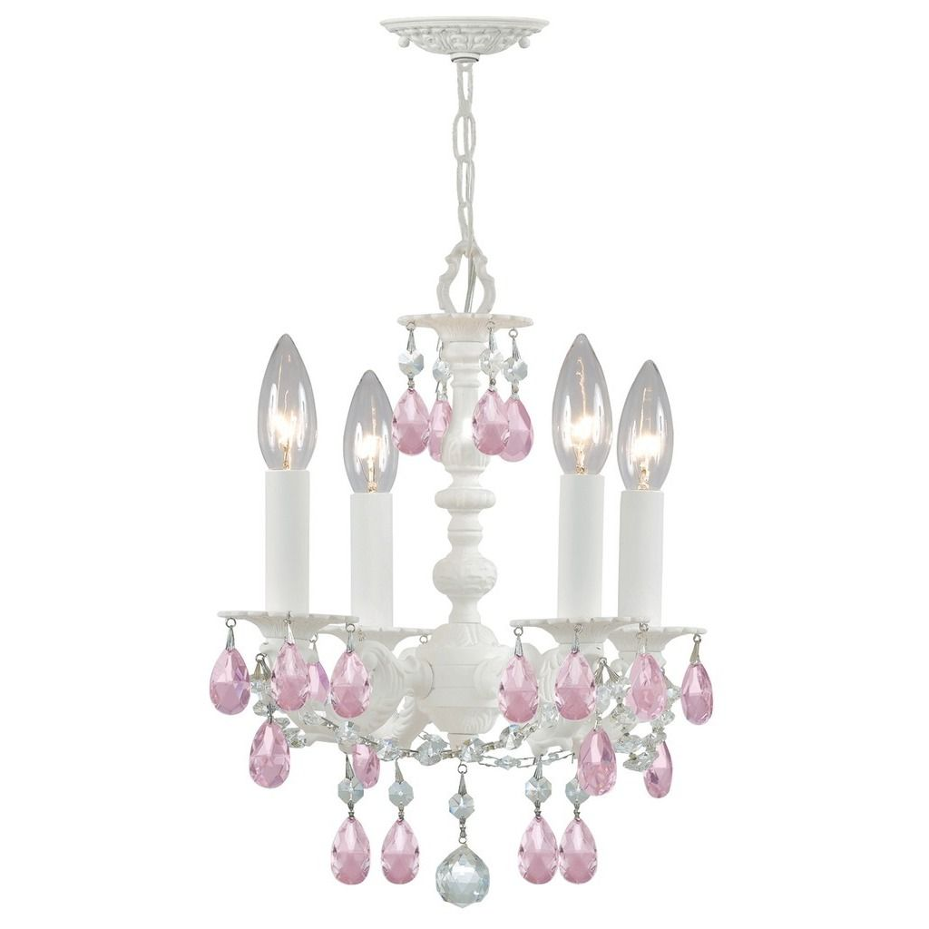 Crystorama Paris Market Collection 4-light Wet Mini Chandelier