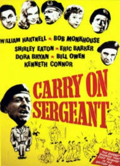 """carry on """" sergeant """""""
