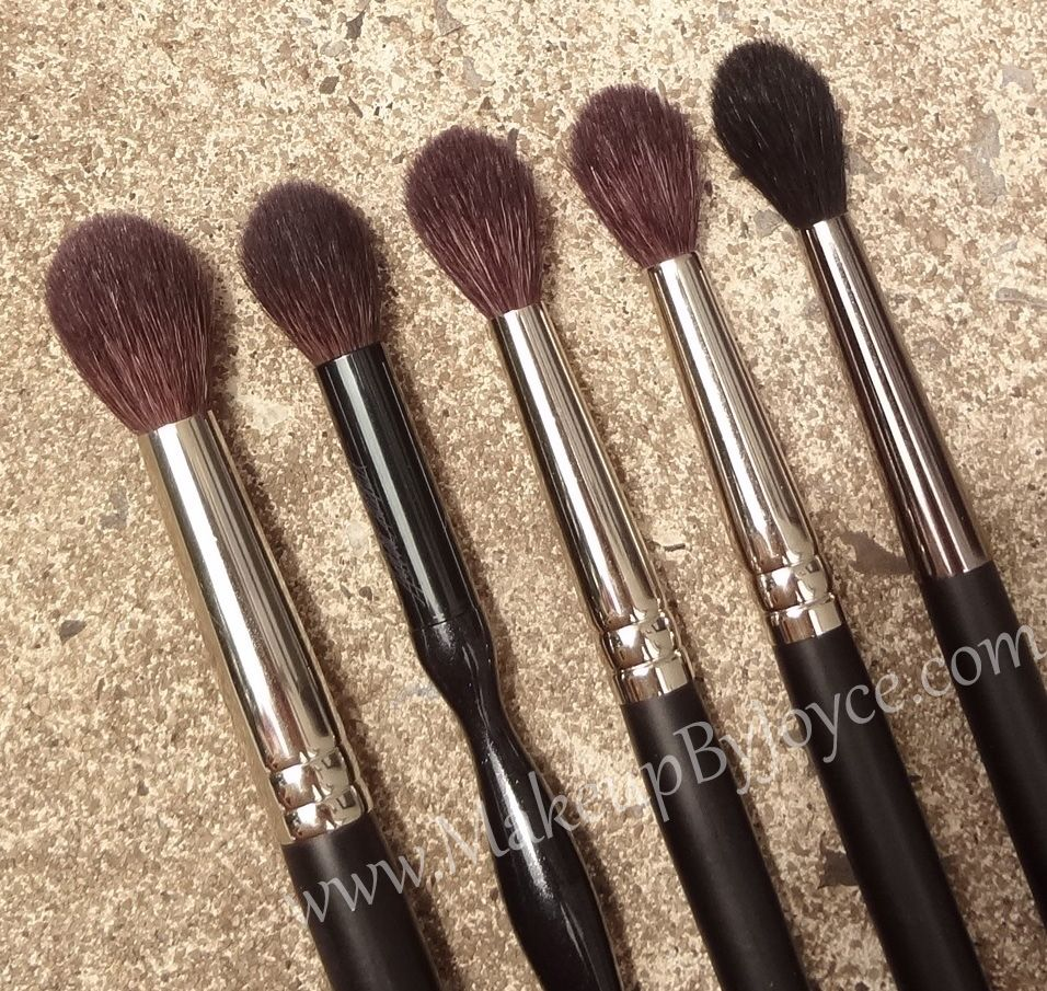 Review Comparison Tapered Crease Blending Brushes Blending Brushes Make Up Dupes Makeup Brushes