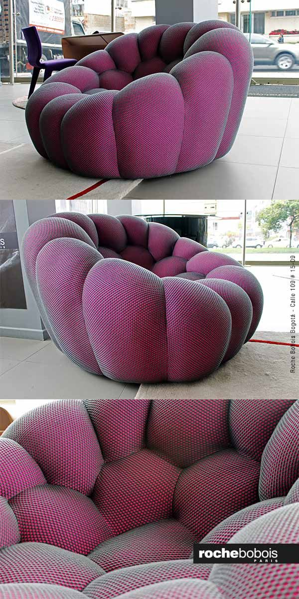 Sillon Bubble Diseno Sacha Lakic Revestido De Tela Techno 3d O 4d Exclusiva Sofa Design Modern Sofa Designs Furniture