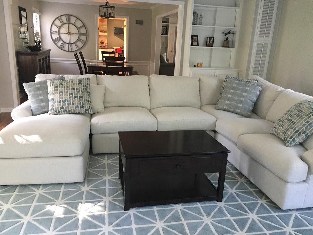 We Love Seeing Your Style Like Our Sutton Sectional With This