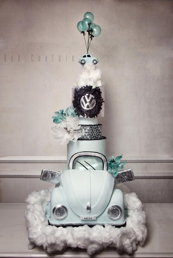 Volkswagen Cake by Kek Couture
