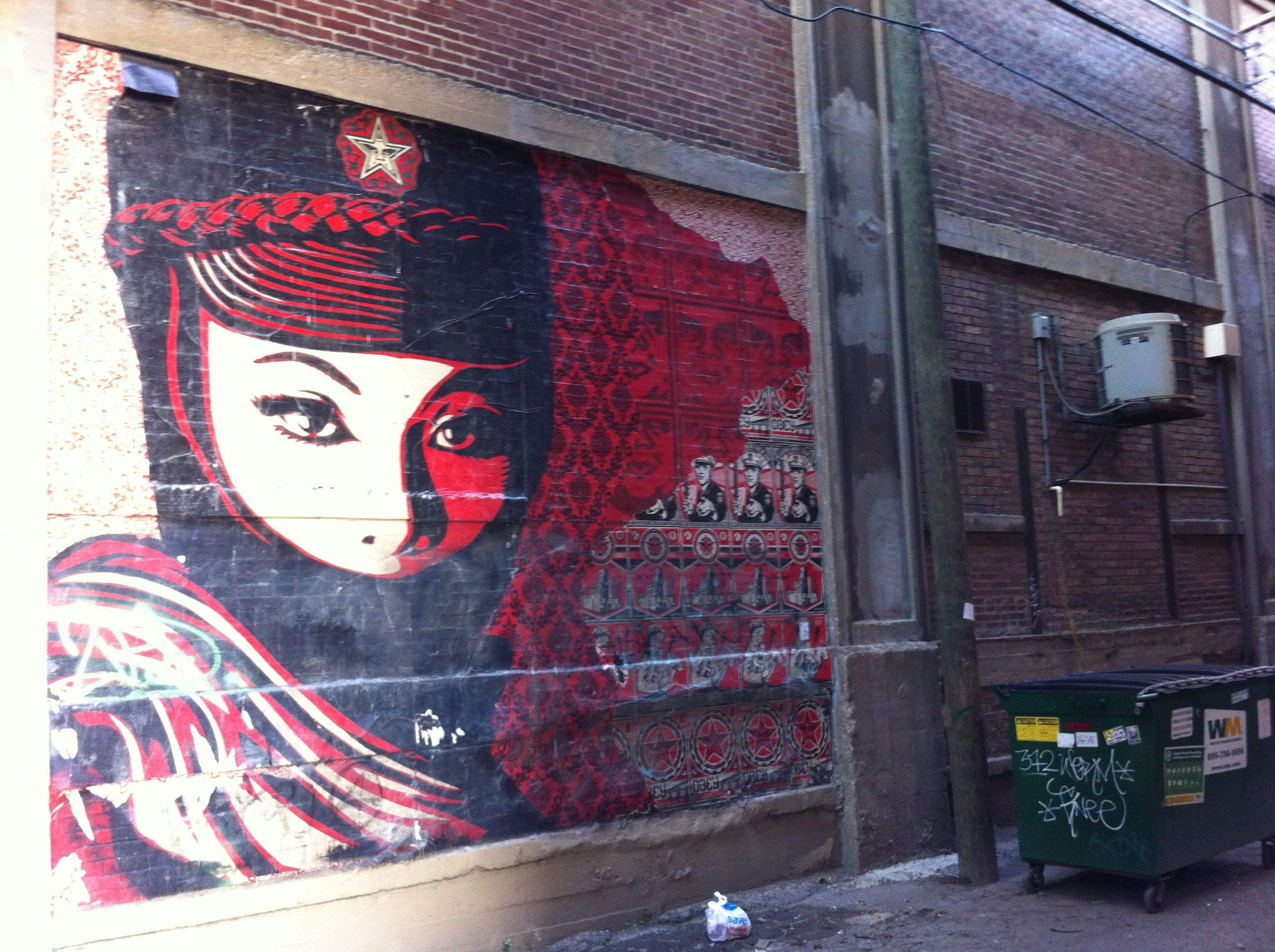 Alley, South Side, Chicago