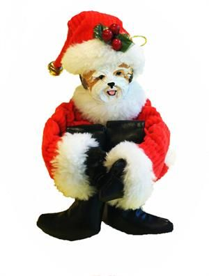 Boxer Christmas Ornaments made in the USA (image shown is example ...