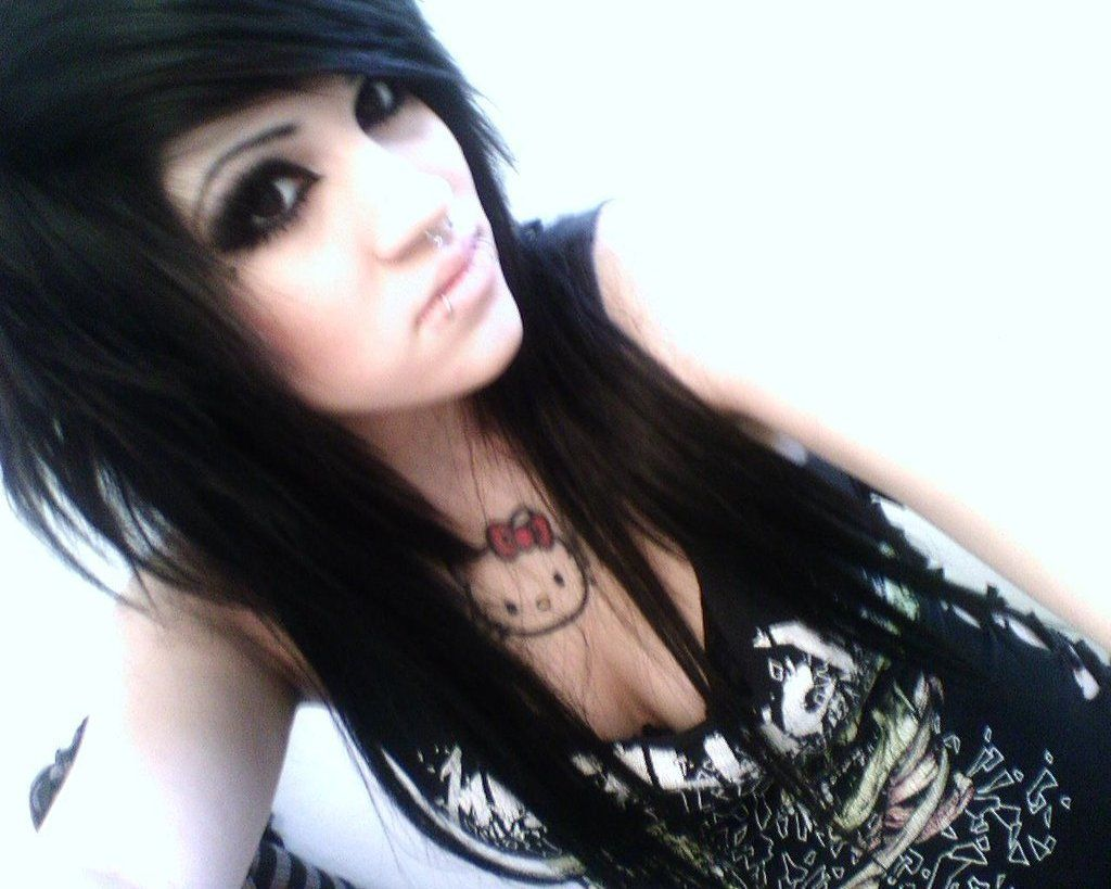 Love this emo hair clothes shoes hair accessories nails