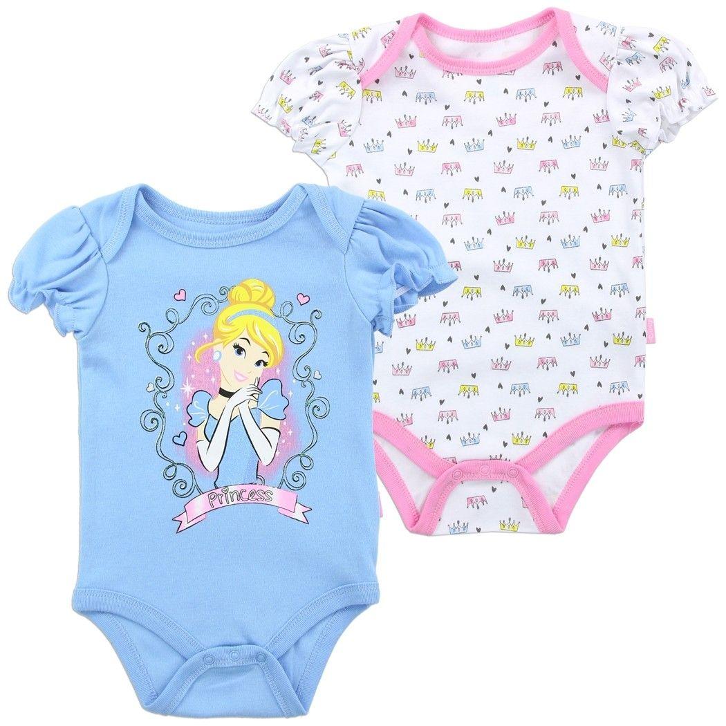 NWT Disney Princess Girls Cinderella 2-Piece Outfit Clothing Set 12 Mo 18 Mo 2T