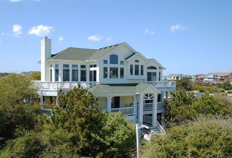 twiddy outer banks vacation home elysian duck semi oceanfront rh pinterest com