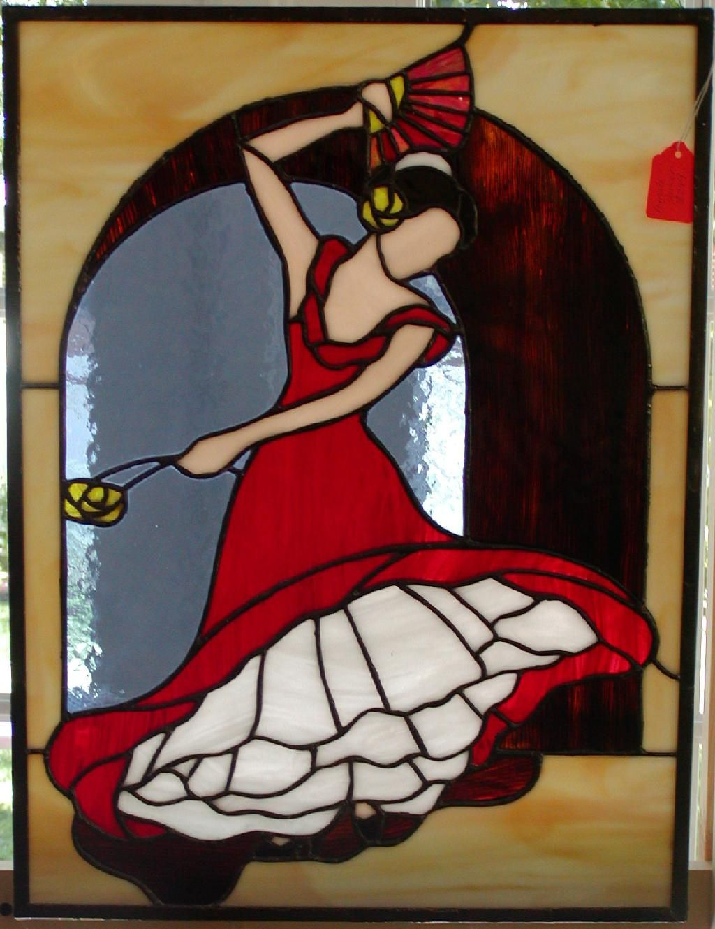 Dancer Stained Glass Patterns