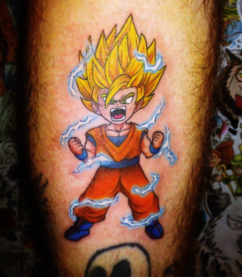 Goku Chibi Tattoo By Hamdoggz On Deviantart Z Tattoo Geek Tattoo Dragon Ball Z