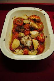 Papelera: Sopa de tomates cocidos y tomillo